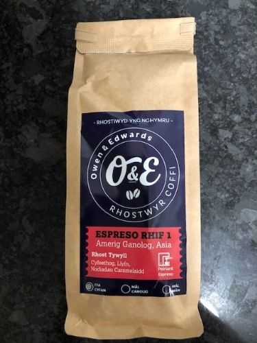 Owen and Edwards Ground Coffee - Espresso Beans
